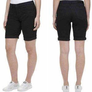 "DKNY Jeans Rolled Hem 9"" Bermuda Shorts, Size 12"